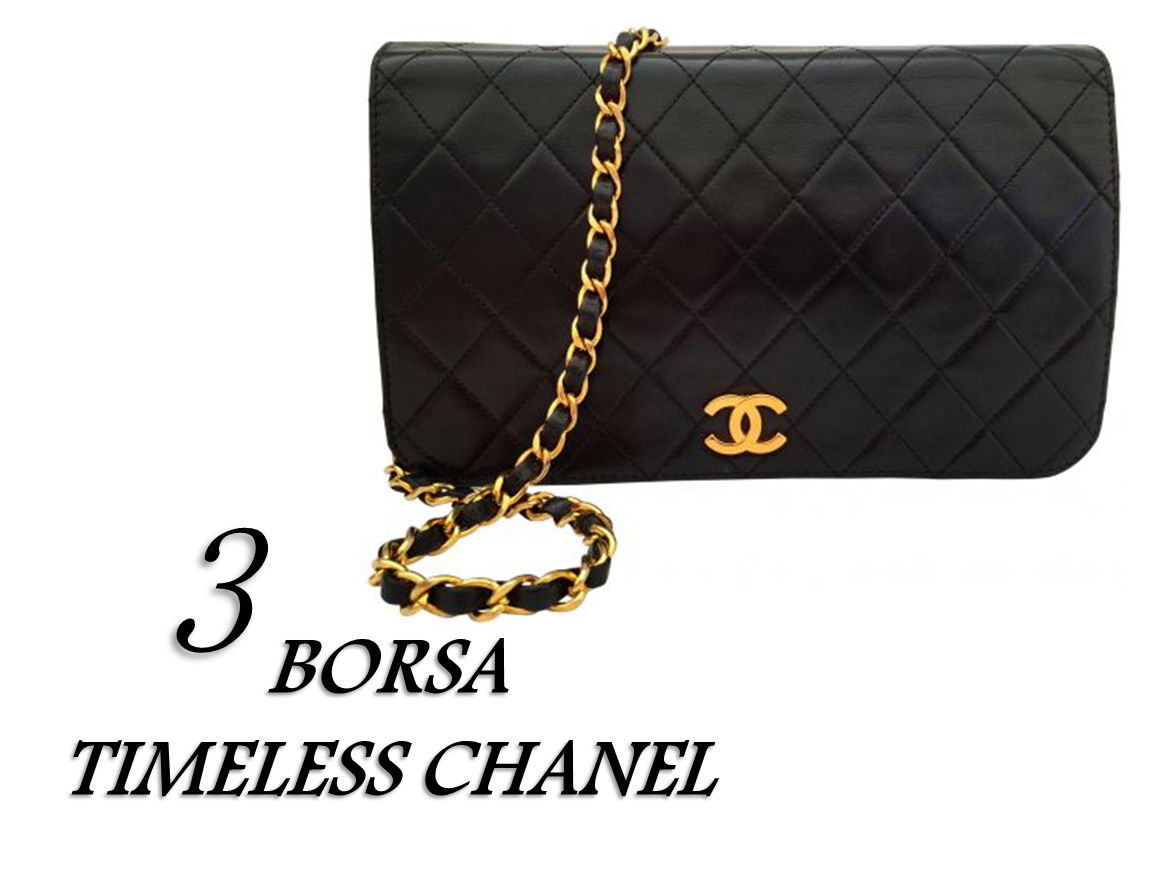 CAPI MUST HAVE VINTAGE BORSA CHANEL