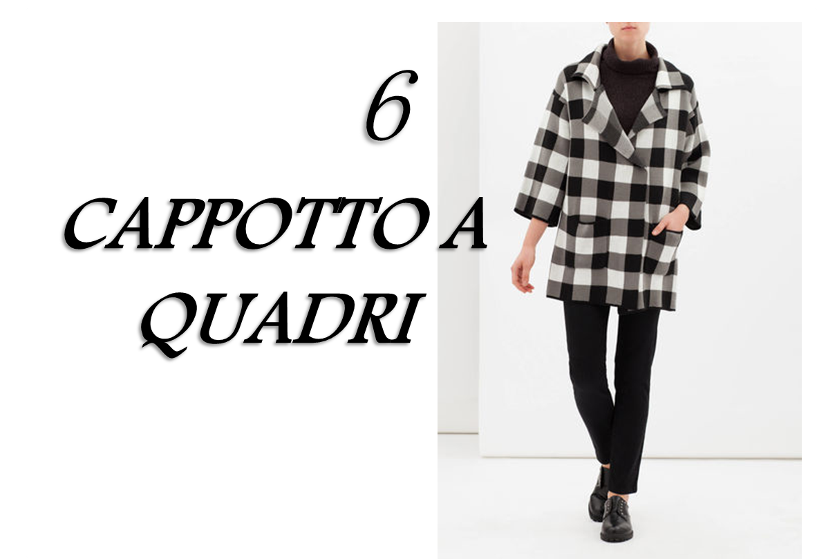 CAPI MUST HAVE VINTAGE CAPPOTTO A QUADRI