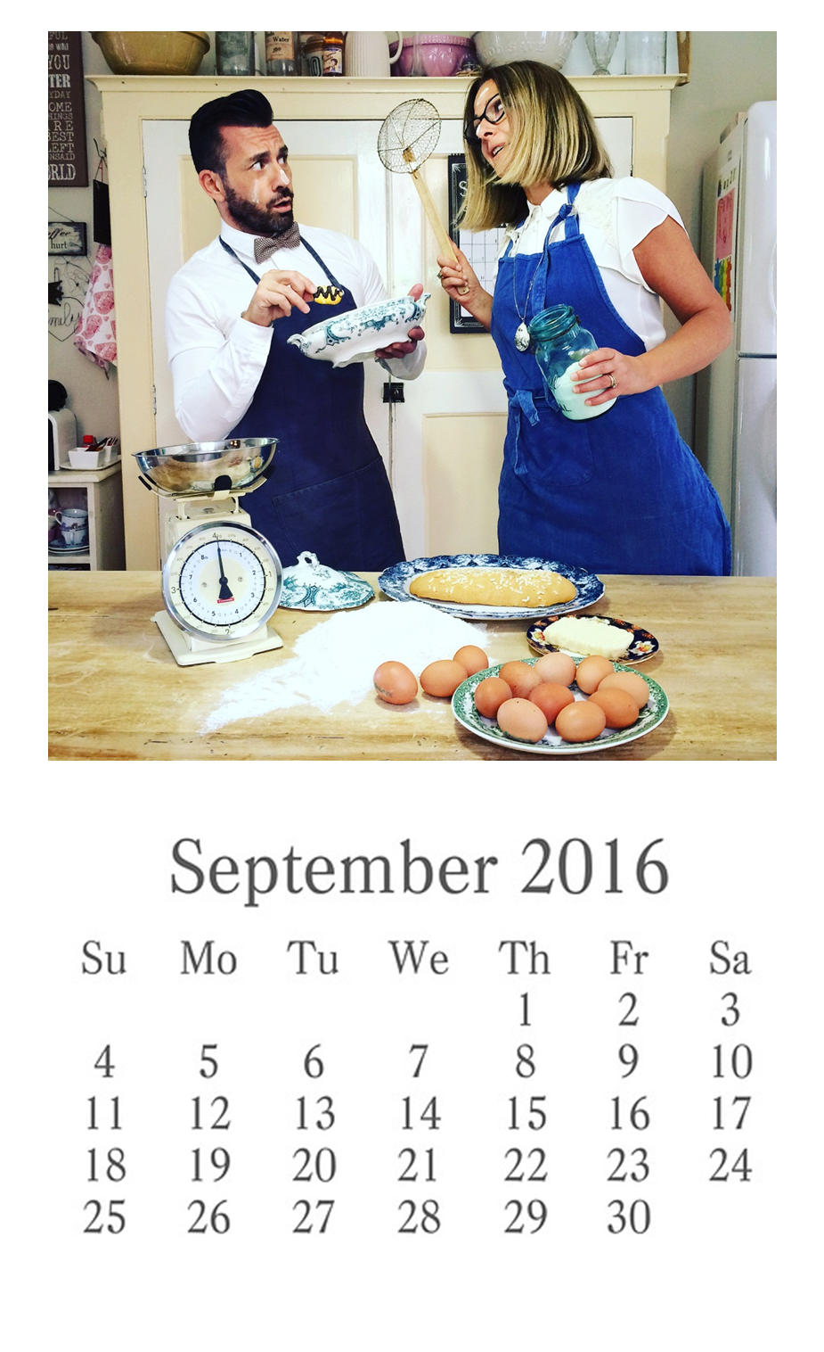 calendario settembre 2016 vintage quello sbagliato enjoy coffee and more