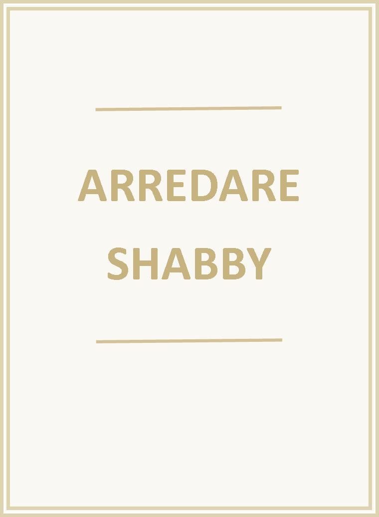 Arredare Shabby