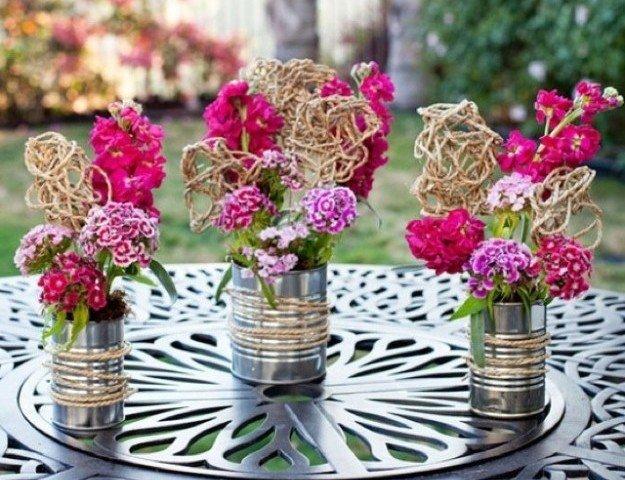 riciclo fiori blog shabby chic