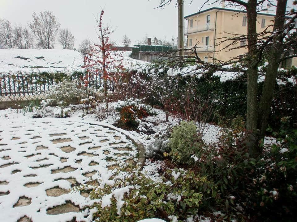 Esedra Giardino della Notte: Inverno