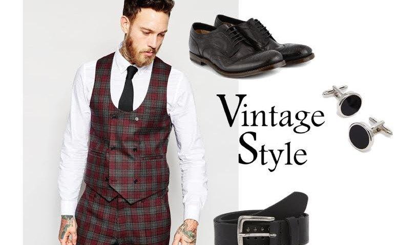 Look Vintage Uomo: la proposta per un perfetto outfit dal