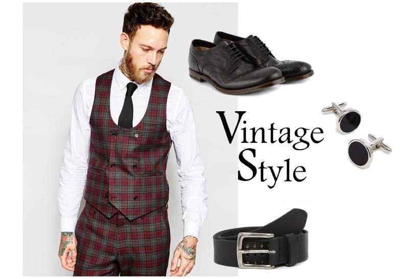 look vintage uomo