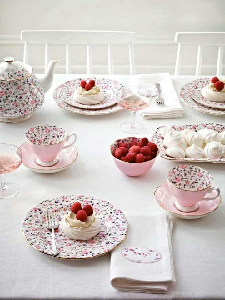 TEA PARTY: l'ora del te in stile shabby