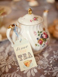 TEA PARTY: l'ora del te in stile shabby