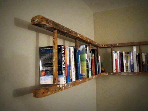 Riutilizzare una vecchia scala in legno