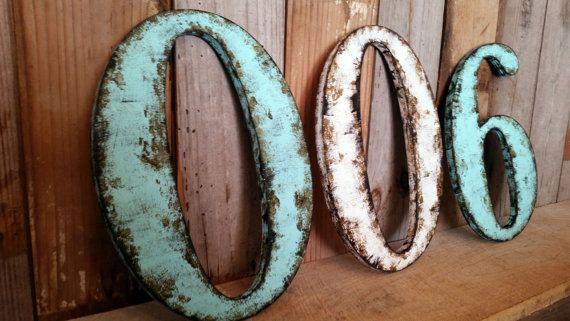 Arredare Casa con le lettere vintage: il lettering