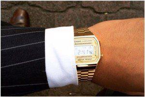 orologio casio da polso vintage