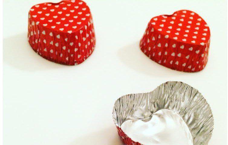 idee regalo san valentino cioccolatinia forma di cuore