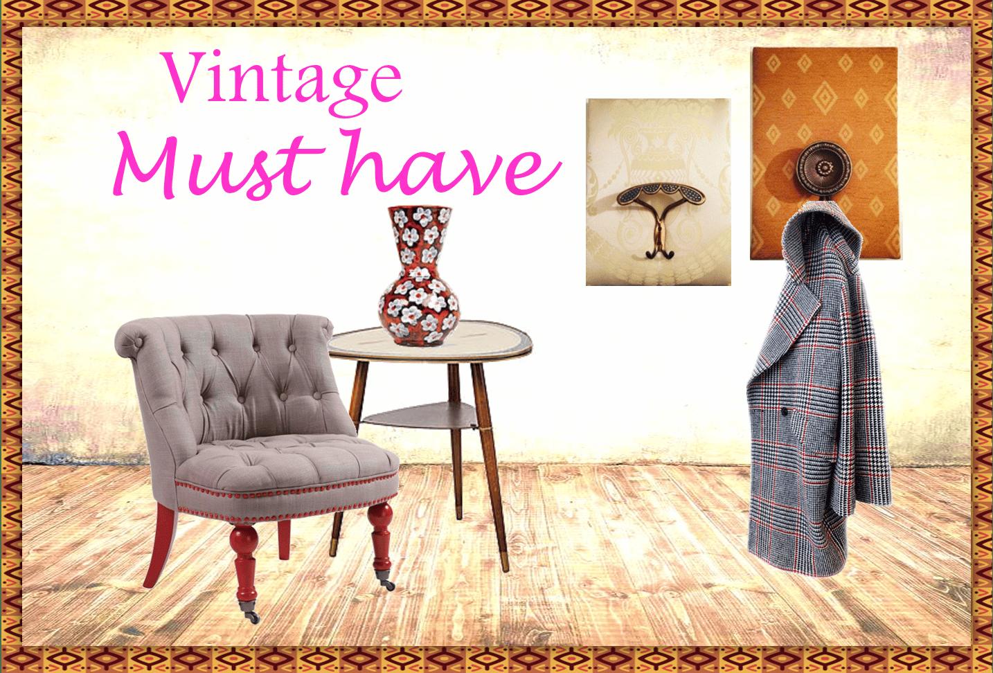 Vintage must have 4 oggetti per arredare la tua casa Oggetti vintage per casa