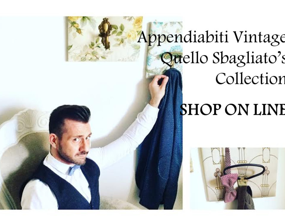 SHOP ON LINE VINTAGE BY QUELLO SBAGLIATO