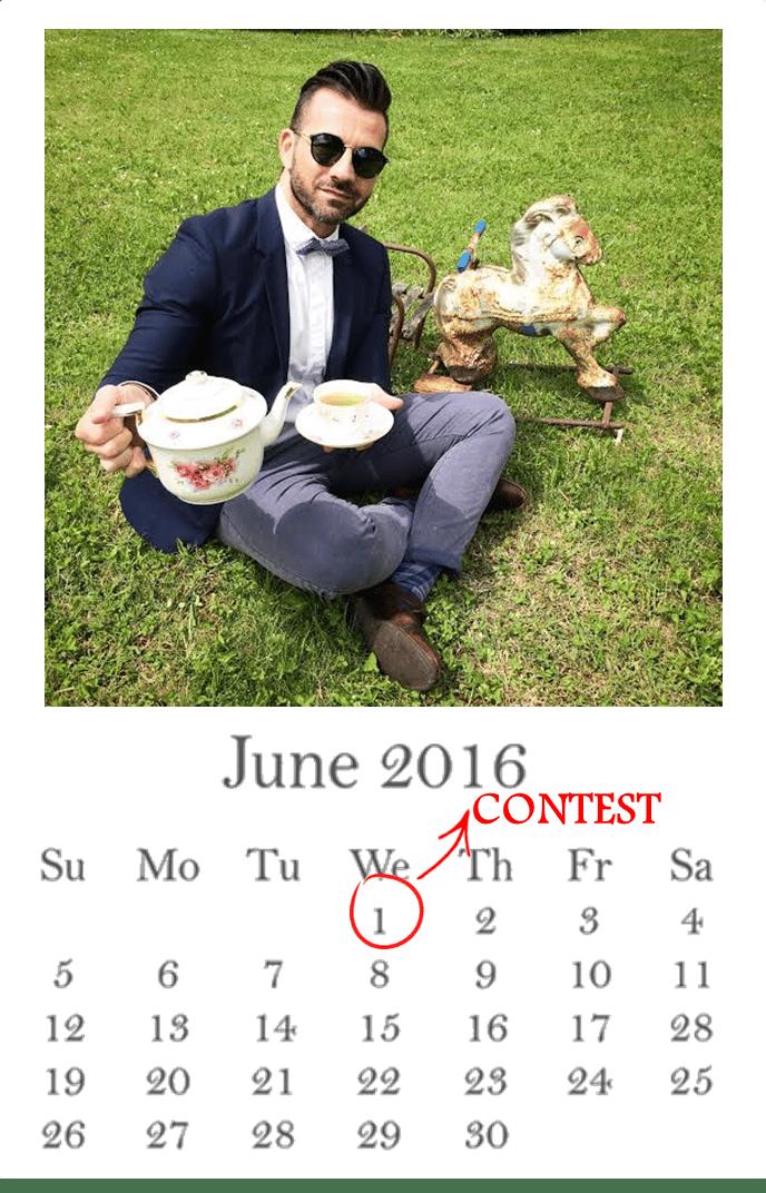 calendario VINTAGE giugno QUELLO SBAGLIATO