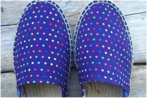 scarpe espadrillas colorate uomo