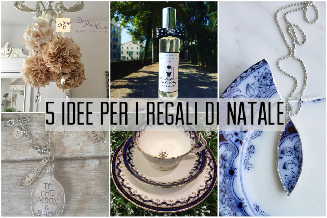Idee regalo in stile vintage 5 regali da fare a natale for Idee per regali di natale