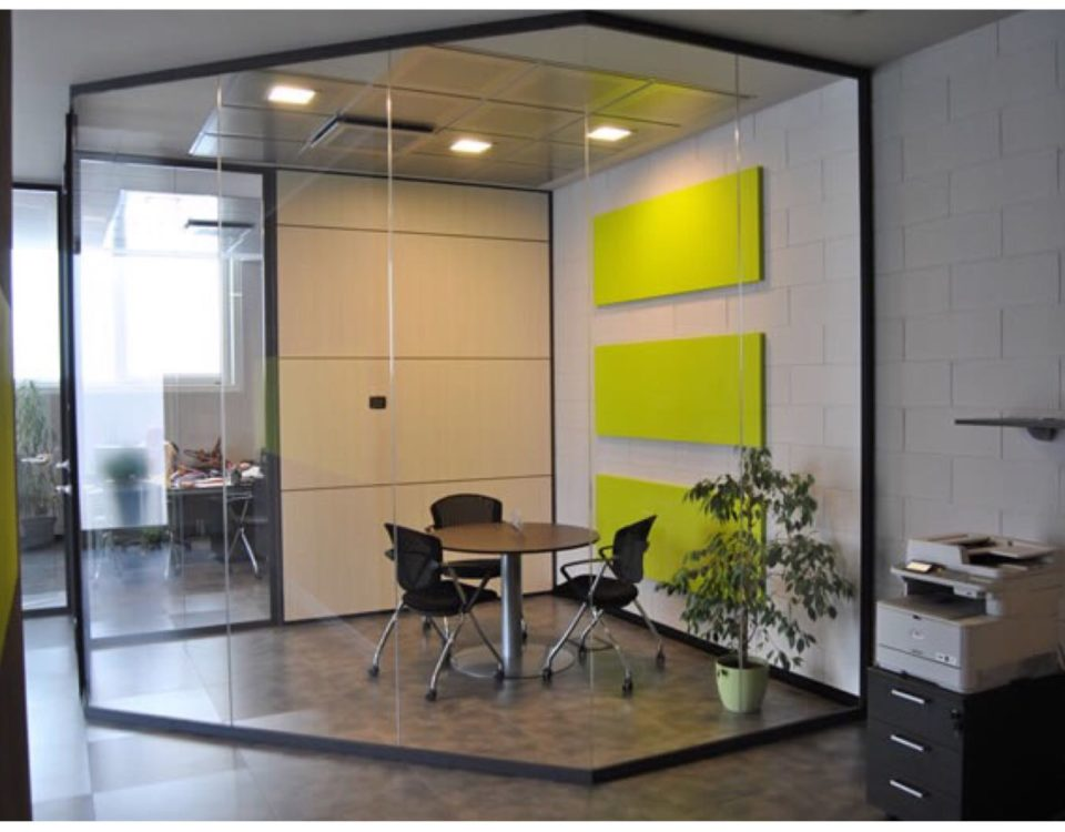 scegliere le pareti divisorie per ufficio