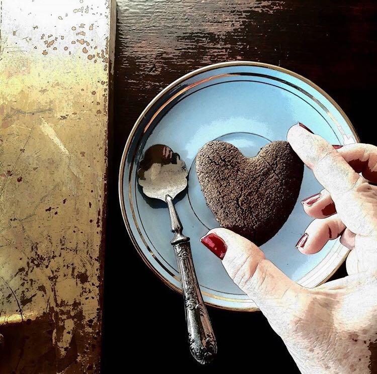 dolci san valentino biscotti a forma di cuore