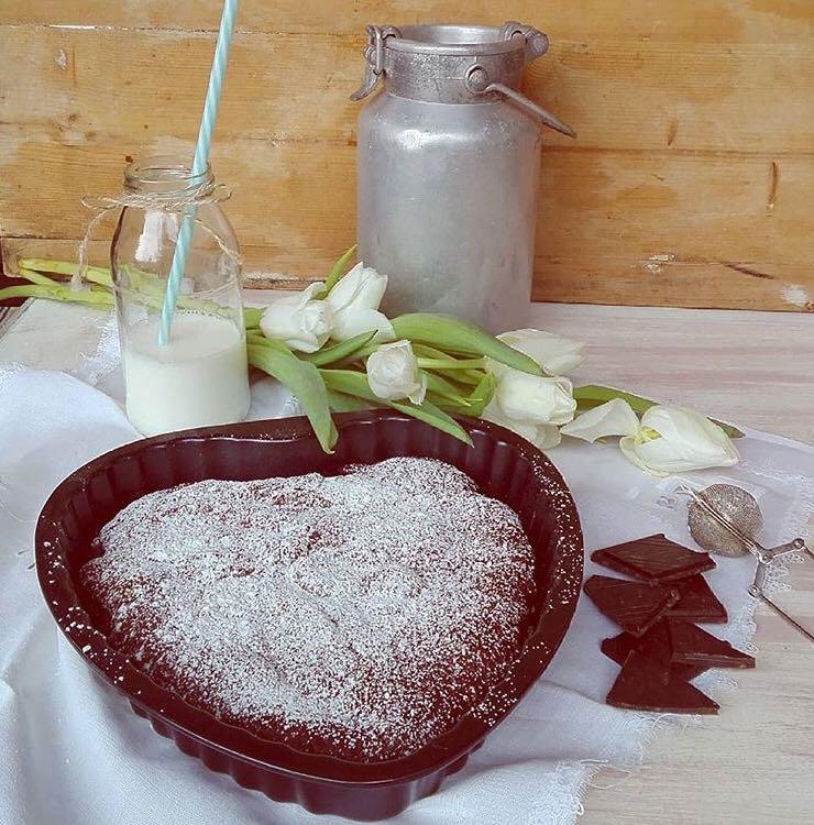 torta san valentino a forma di cuore