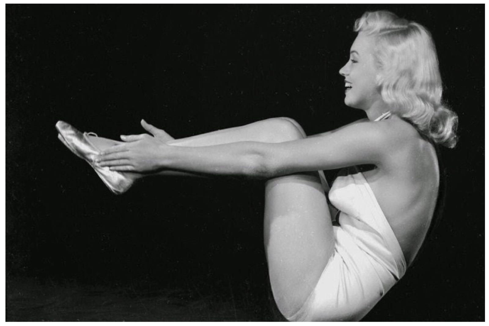 vintage blog yoga