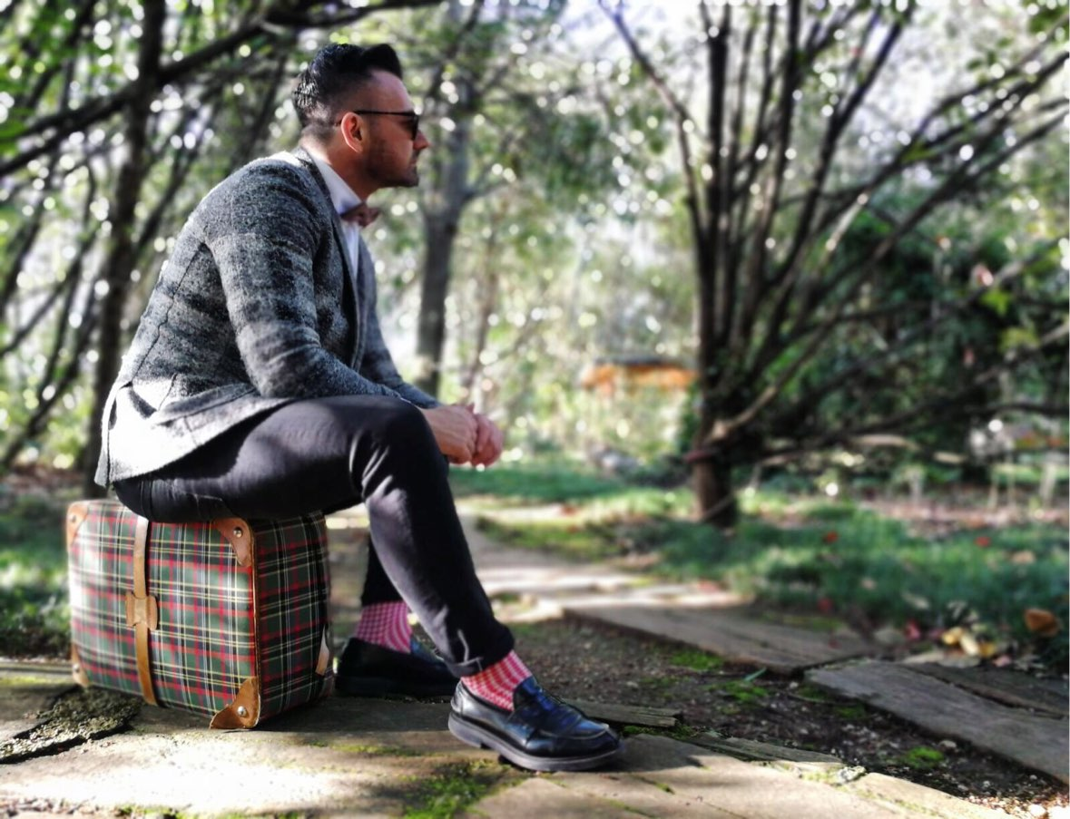 fashion blogger uomo Italiano