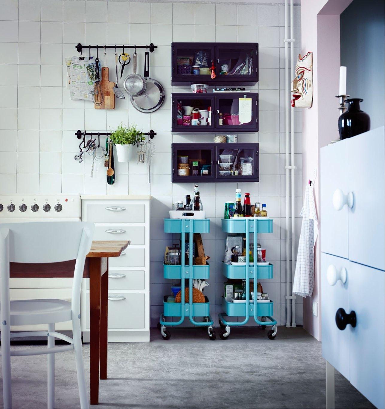 idee salvaspazio in cucina