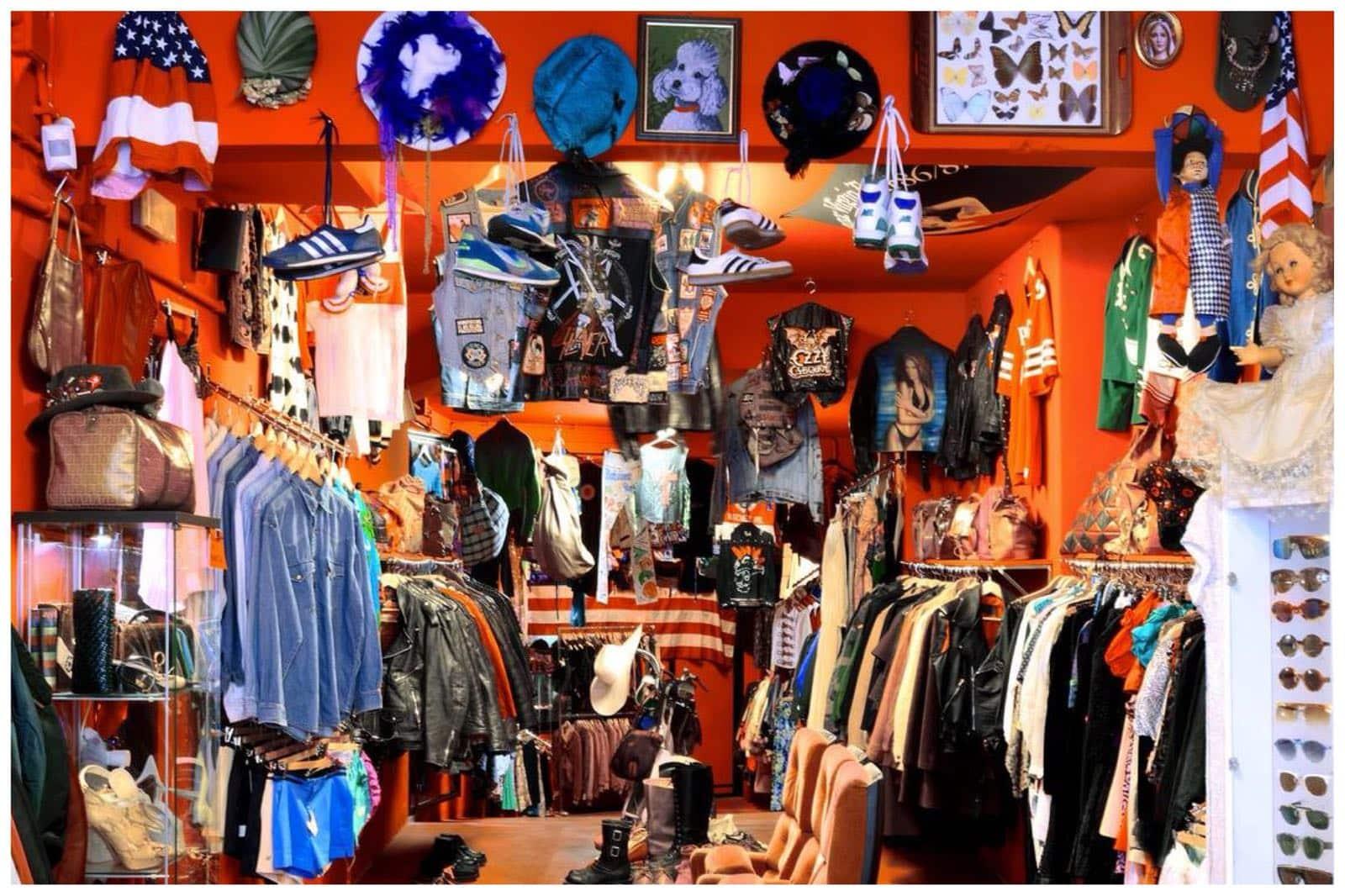 la guida degli indirizzi negozi vintage roma