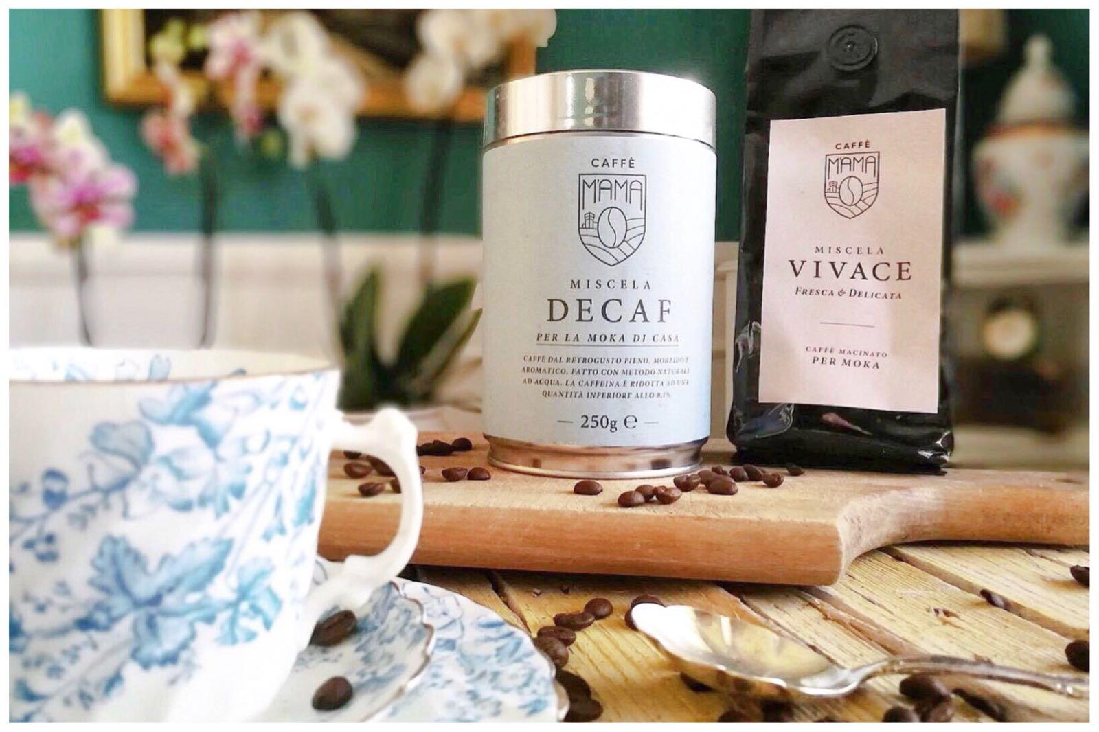 tazze vintage per caffè mama
