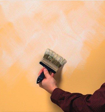 tecniche per dipingere pareti di casa