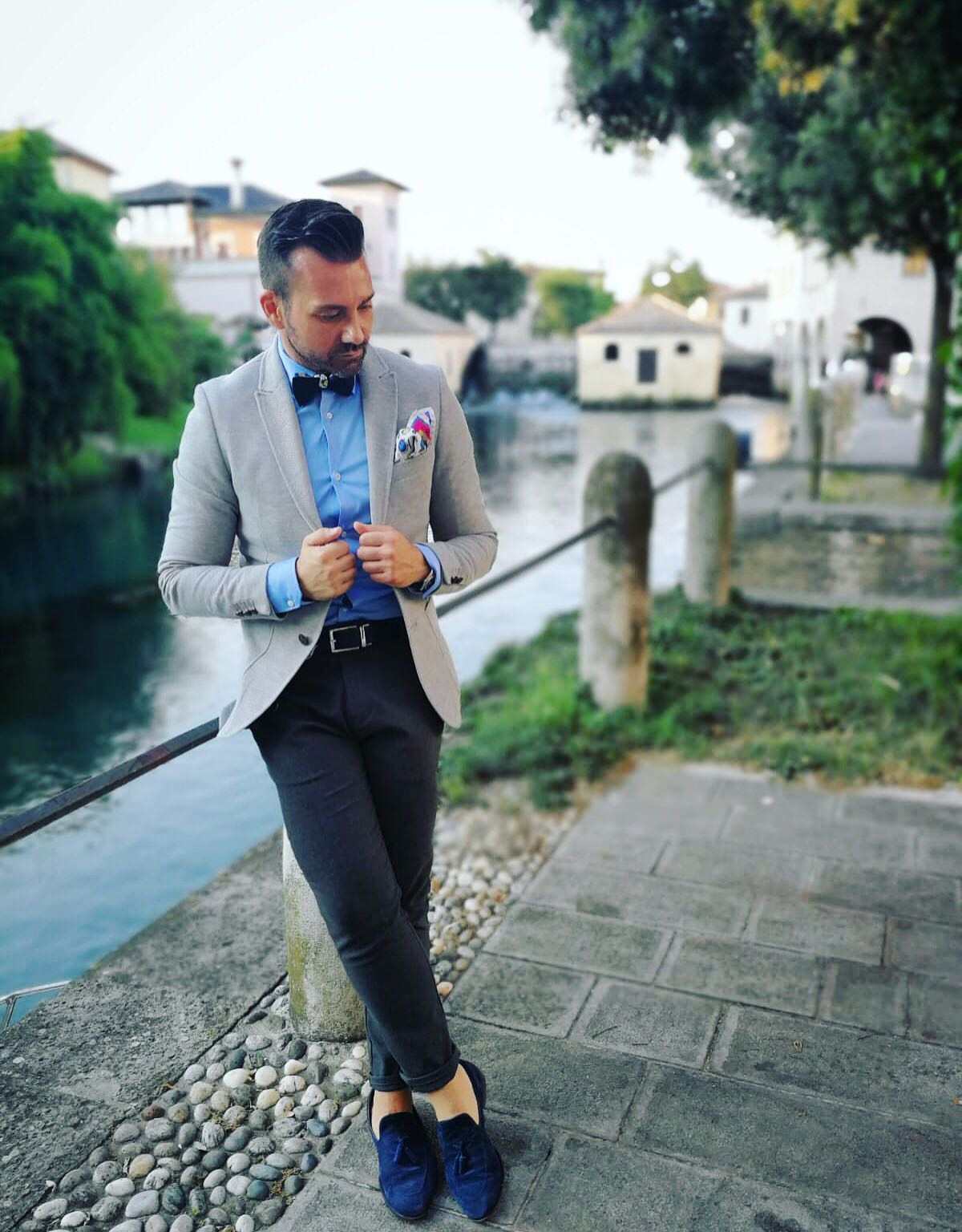 vintage fashion blogger uomo