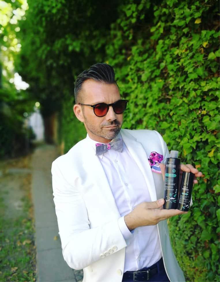 vintage fashion blogger bellezza uomo