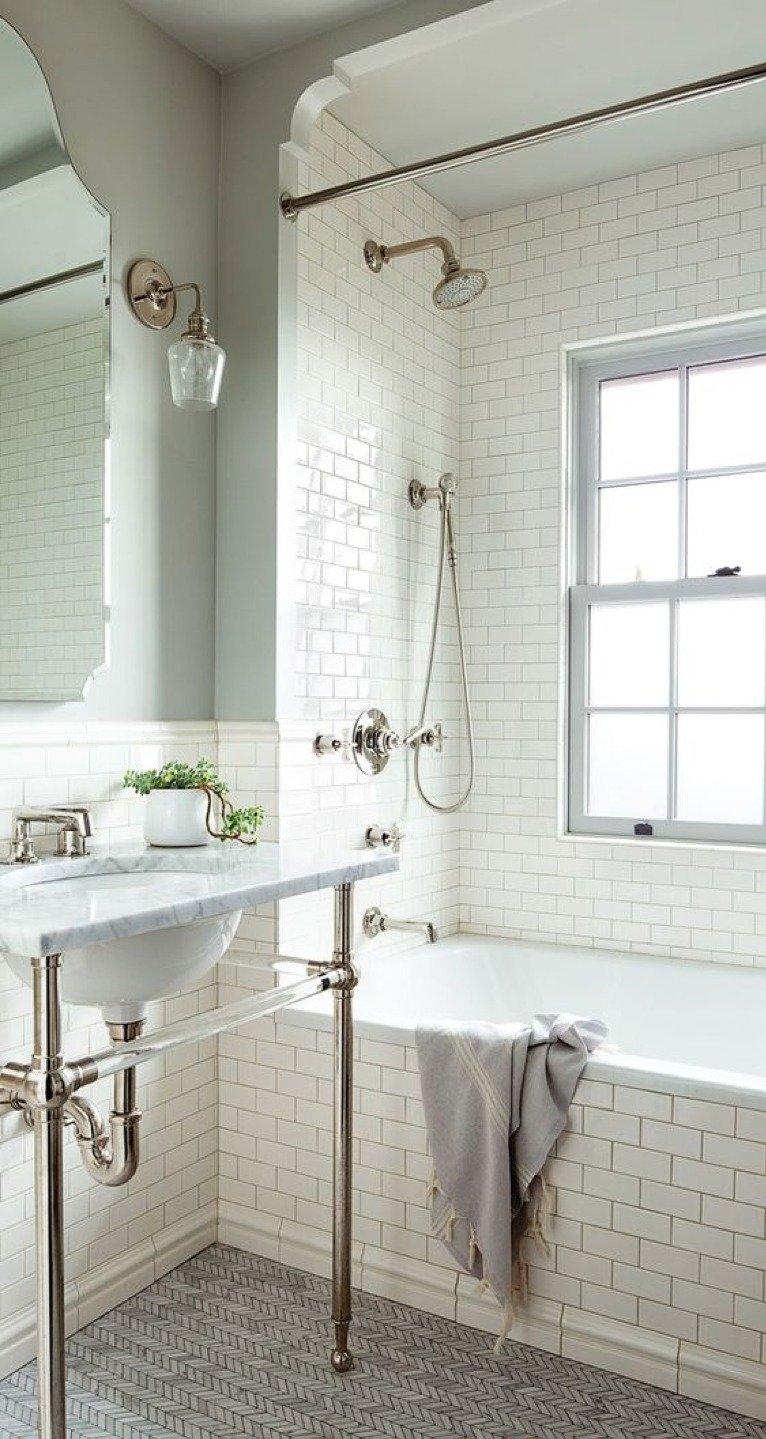 arredare un bagno stile vintage