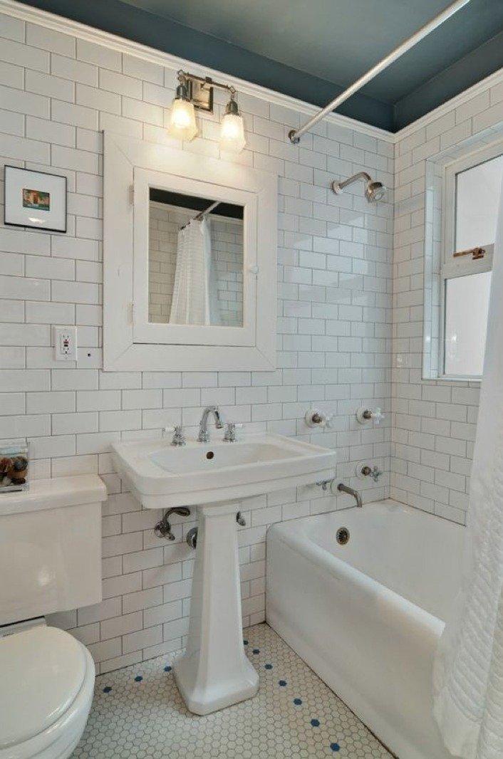 bagno vintage arredamento