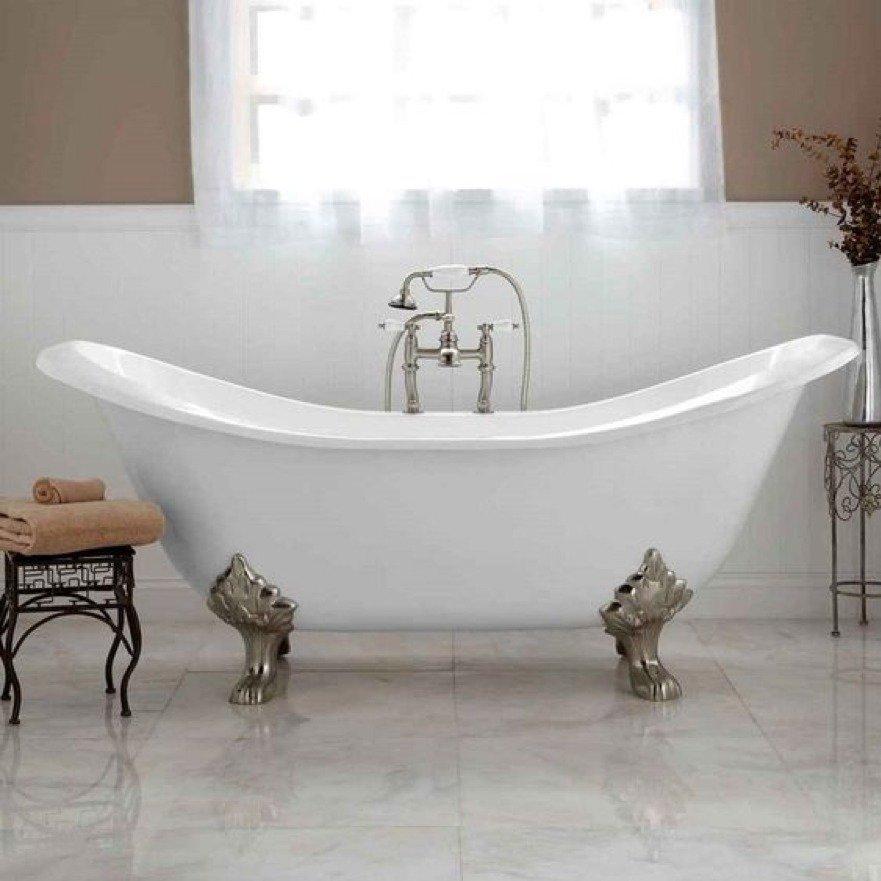 idee d'arredo vintage bagno