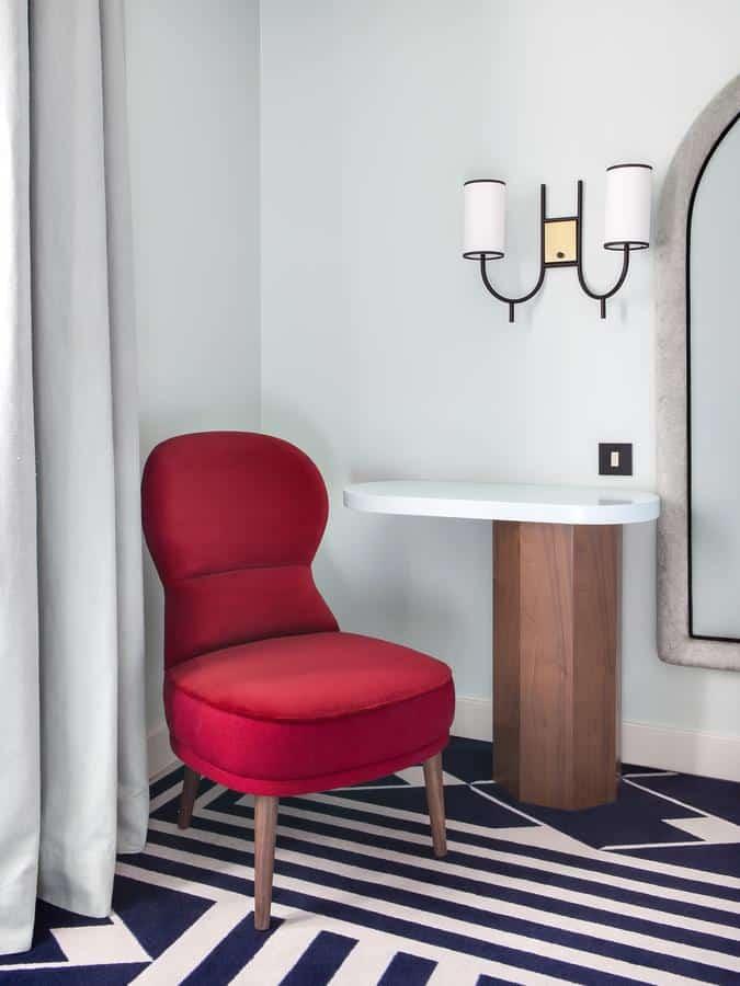 arredamento vintage hotel