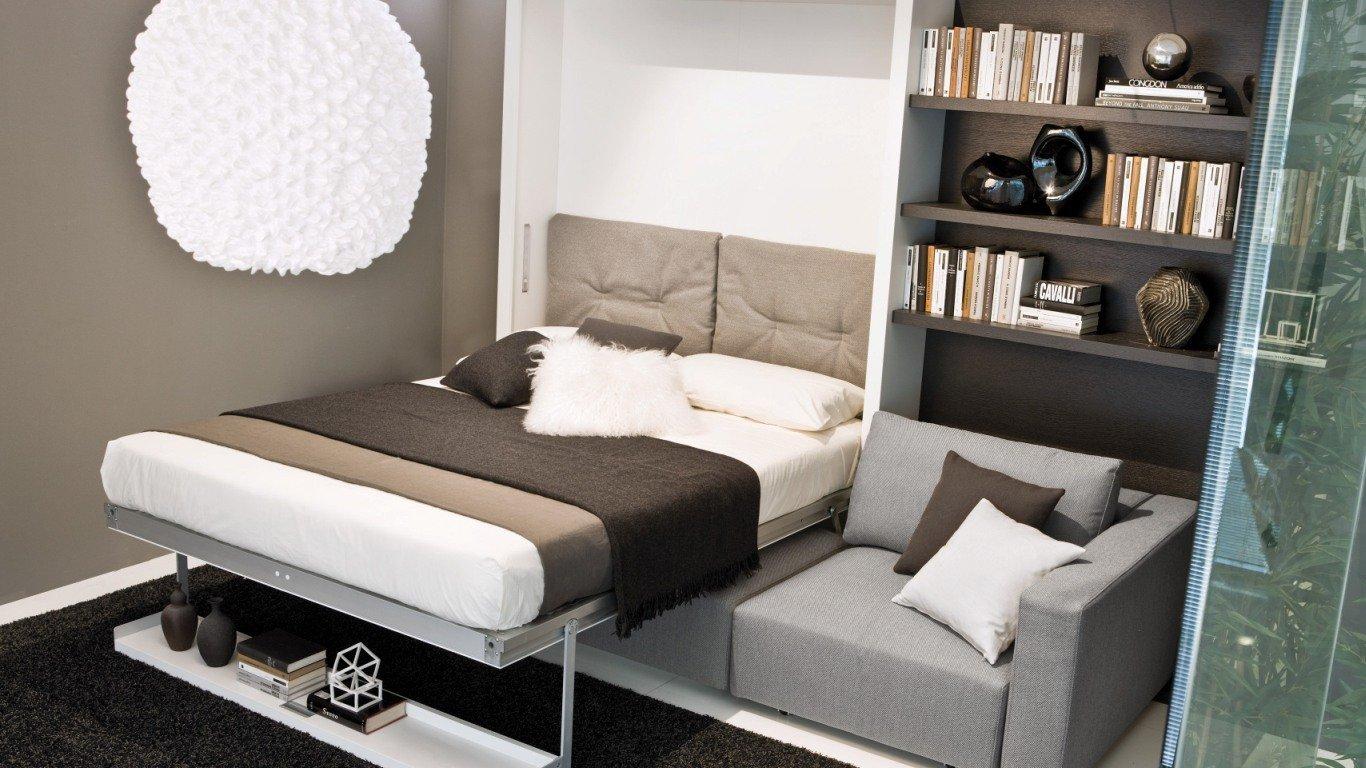 divano letto per arredamento piccolo