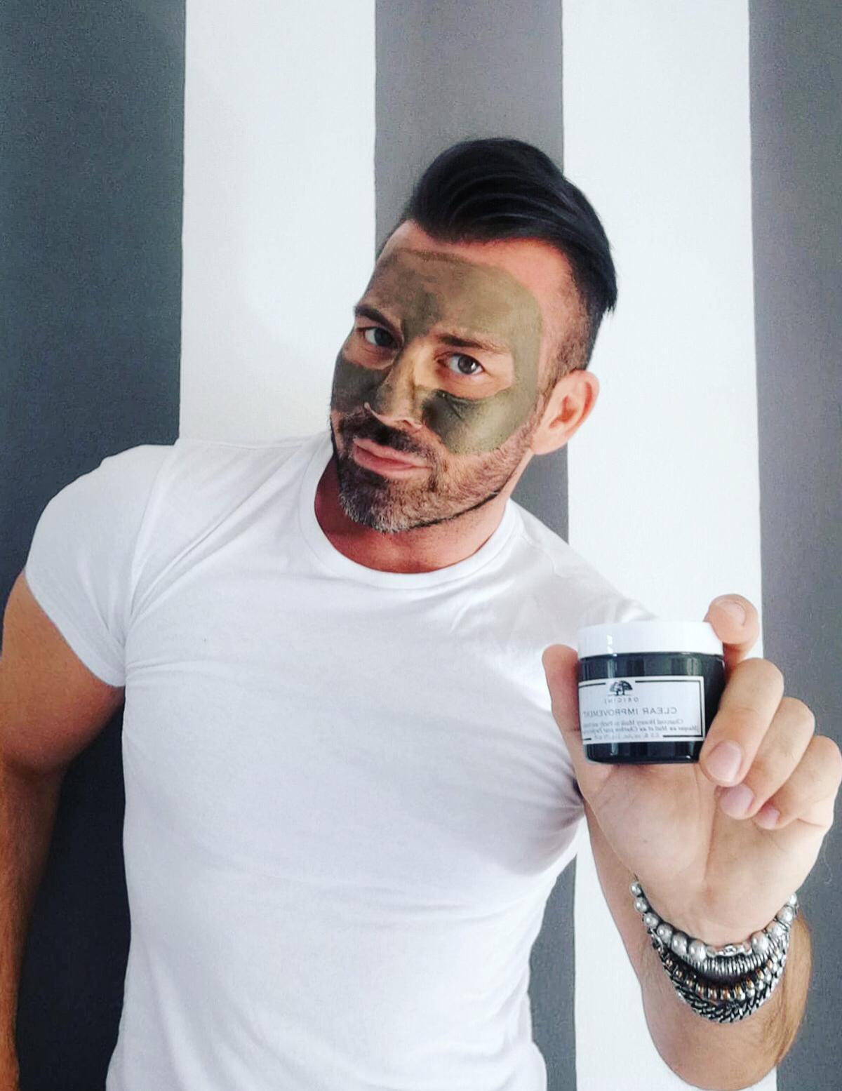 maschera viso uomo Origins