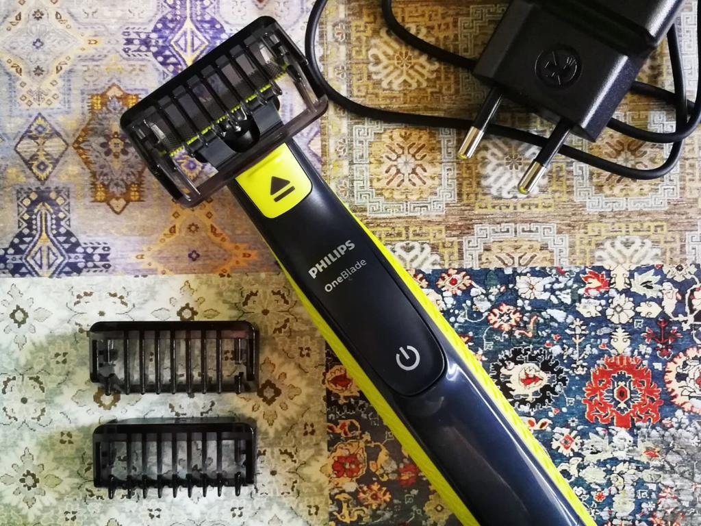 ONE BLADE Philips regolabarba rasoio rifinitore barba