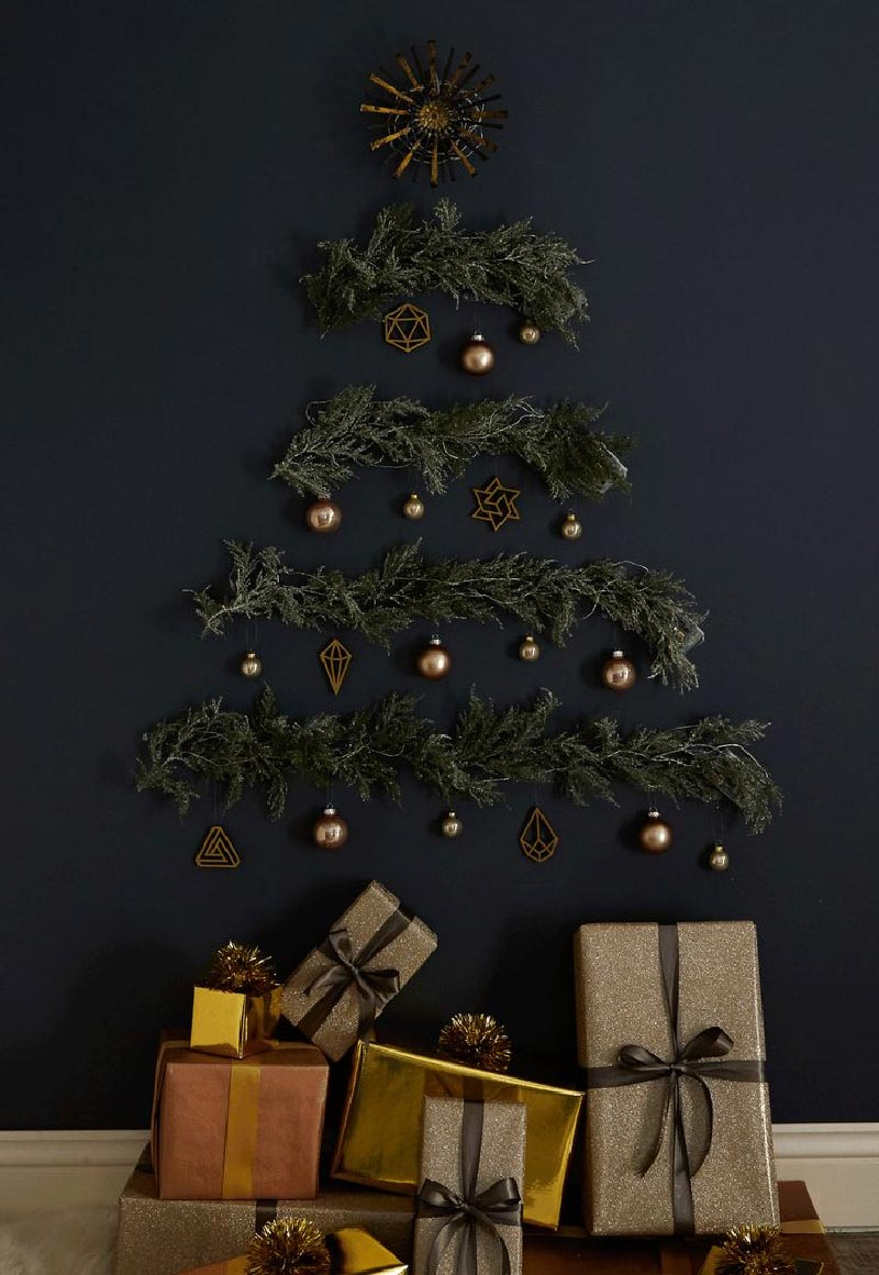 albero di natale alternativo e originale