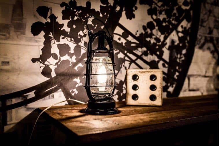 arredamento vintage lanterne