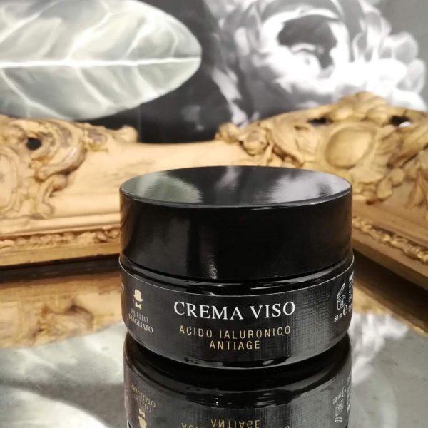 crema viso acido ialuronico per uomo