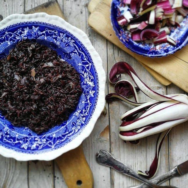 preparare un risotto con Riso venere al bimby