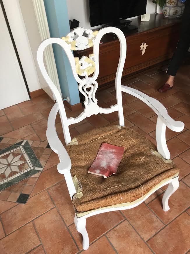 Restyling sedia vintage fai da te