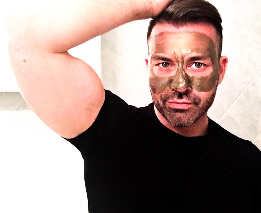 quando applicare una maschera di bellezza uomo