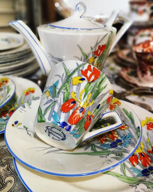 tazze porcellane vintage mercanteinfiera parma