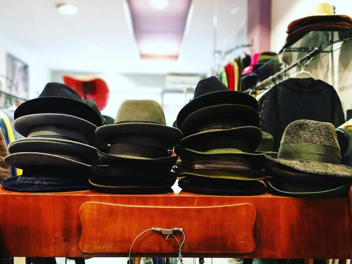 Cappelli uomo vintage