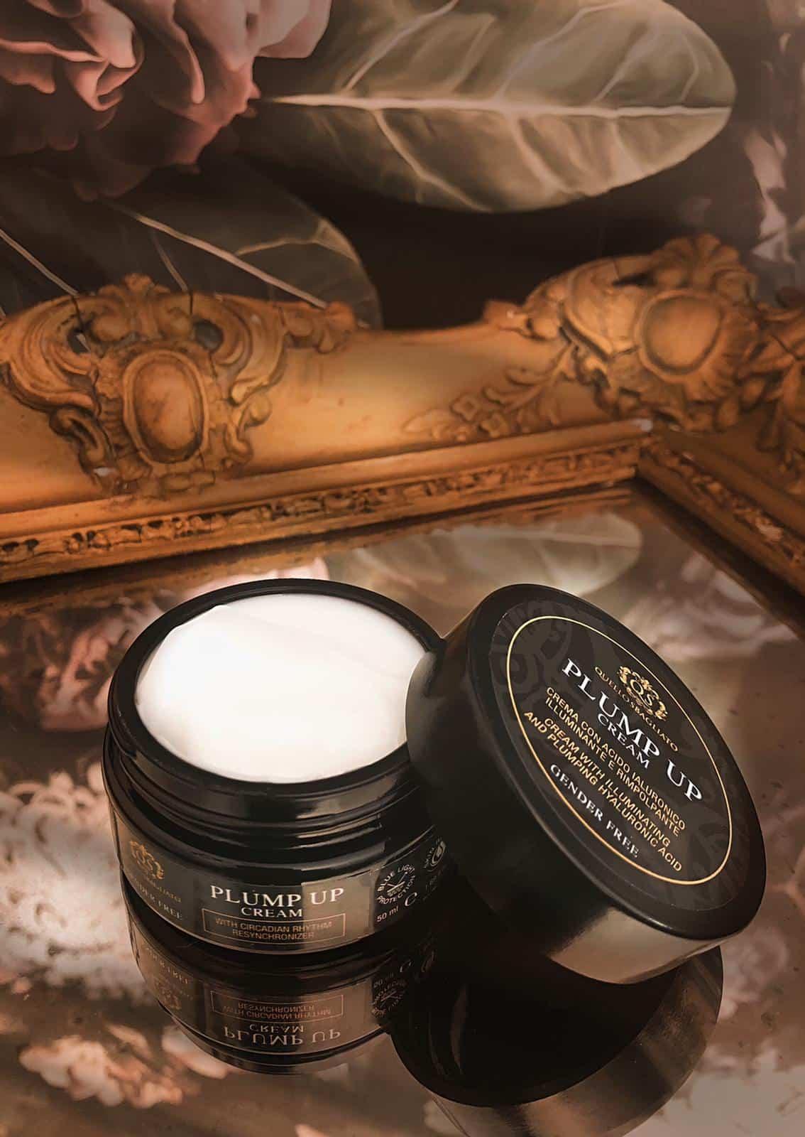 Crema con acido ialuronico illuminante e rimpolpante per uomo e per donna