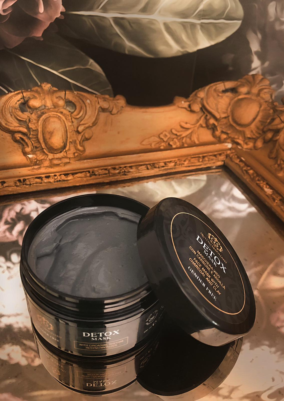 Maschera purificante carbone e argilla ANTISEBO E ACNE