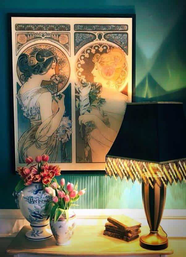 arredare le pareti di casa con stampe e poster vintage