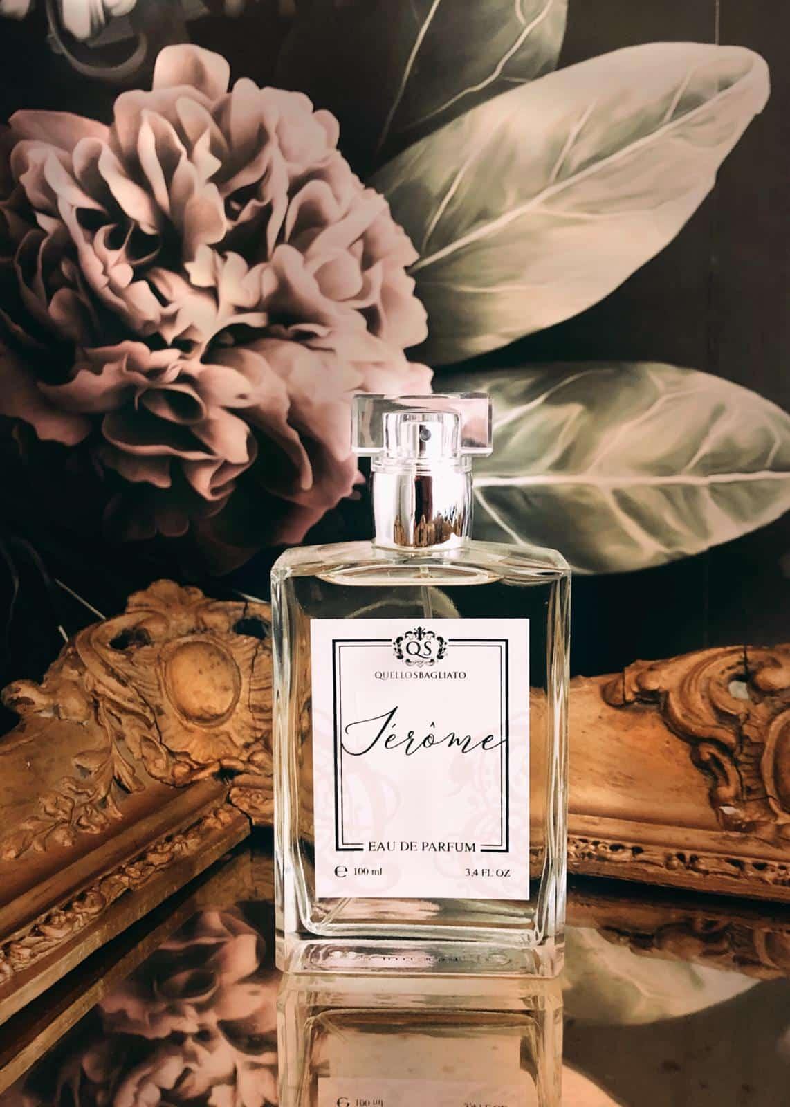 luxury parfum unisex gender free made in italy quello sbagliato jerome ambra profumi di nicchia