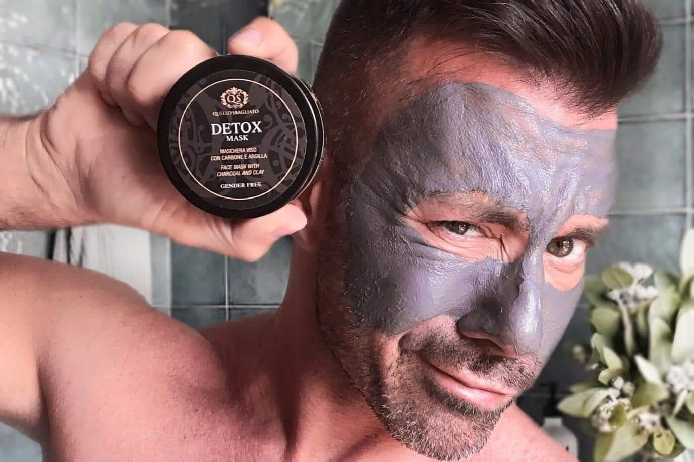 beauty blogger bellezza uomo italiano maschere quello sbagliato eliminare i punti neri e le impurità pelle viso